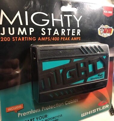 Whistler MIGHTY Portable Lithium Jump Starter WJS-3500 Cars, Trucks, Boats, More