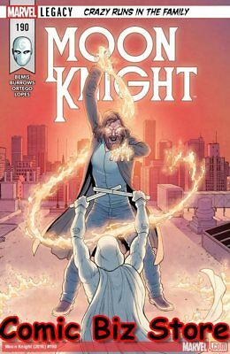 Moon Knight #190 (2017) 1St Printing Bagged & Boarded Marvel Legacy Tie-In