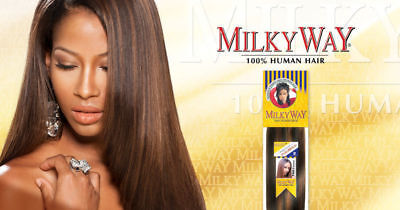 SHAKE-N-GO Que-Milky Way Yaky Weave 100% Human Hair Extension -Clearence Parice