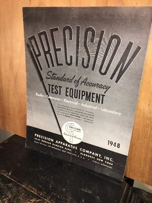 Catalog Precision Test Equipment 1948 Issue.