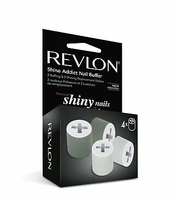 Revlon Shine Addict Nail Buffer Replacement Rollers - New Official