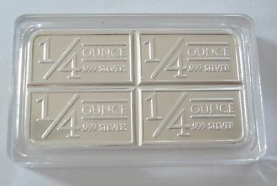 TEN 1 Troy oz. Silver Clad Layered in .999 Pure Silver Stagecoach Bar