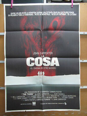 A4958  La Cosa John Carpenter Kurt Russell
