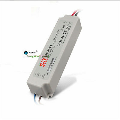 UL LPS IP67 Class 2 60W 24V 2.5A Power supply ,waterproof led driver for outdoor