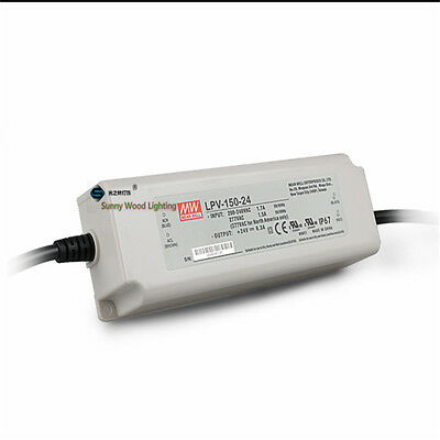 UL LPS IP67 Class 2 150W 24V 6.3A Power supply,waterproof led driver for outdoor