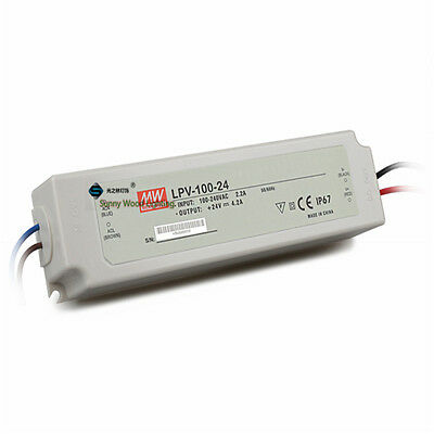 UL LPS IP67 Class 2 100W 24V 4.2A Power supply,waterproof led driver for outdoor