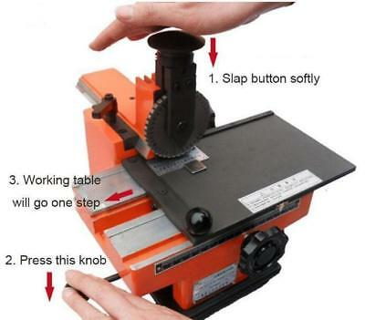 4mm marking machine label sheet embosser metal stamping printer Semi-automatic