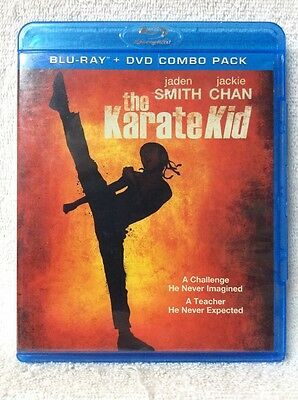 The Karate Kid BLURAY DVD Jaden Smith Jackie Chan Taraji P. Henson Wenwen Han