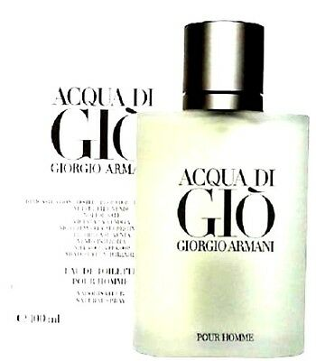 AQUA DI GIO Pour Homme by Giorgio Armani Cologne For Men Edt Spray NEW IN BOX