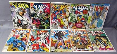 THE UNCANNY X-MEN #290 291 292 293 294 295 296 297 298 299 (10 Issue Run) Marvel