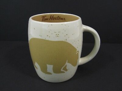 Tim Hortons Coffee Mug Tim's #016 2016 Bear Limited Edition Tea Mug