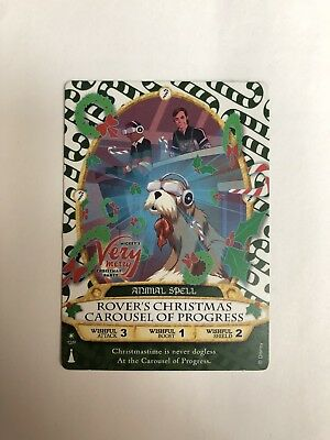 Mickey's Very Merry Christmas Party Sorcerers of the Magic Kingdom Card 2017..