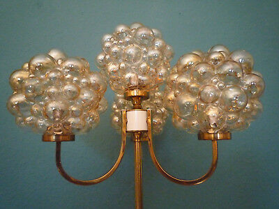 Helena Tynell Stehlampe Floorlamp mid century design very rare Bubble space age