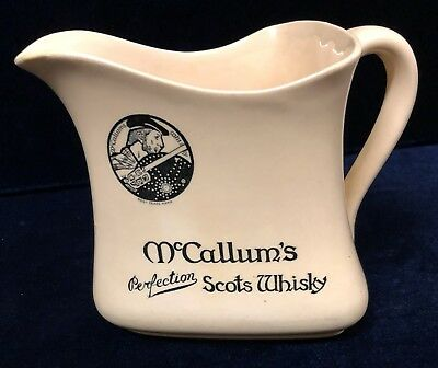 Vintage Rare Royal Doulton McCallums Perfection Scots Whisky Water Jug 1920's