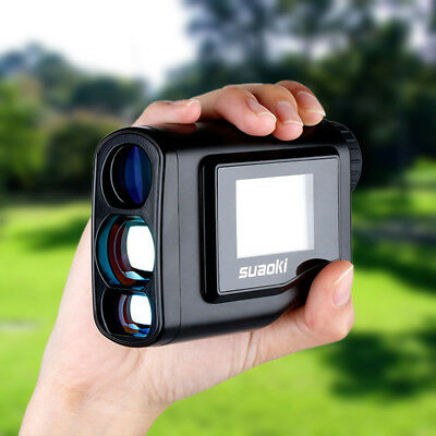 Golf Laser Range Finder 600m SCAN FLAG-LOCK Slope Distance/Height/Speed/Angle AU
