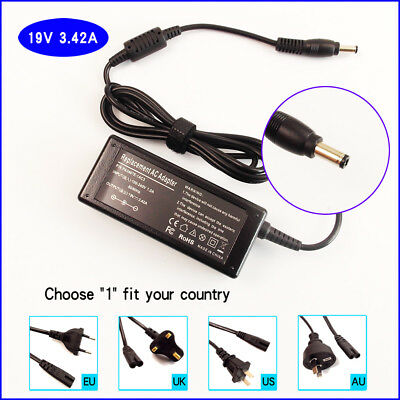 19V 3.42A AC Adapter Charger Power Supply Cord For Asus EXA0703YH PA-1650-66