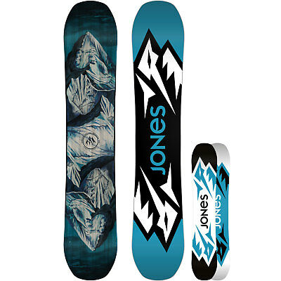 Jones Mountain Twin Men's Snowboard All Terrain Hybrid Rocker Wide 2018 NEW