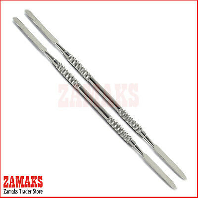 Set Of 2 Cement Spatula Double End Amalgam Mixing Surgical Instruments Tools CE