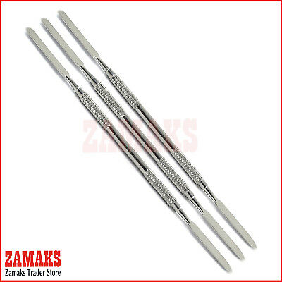 Set Of 3 Amalgam Mixing Cement Spatula Surgical Instruments Restorative Tools CE