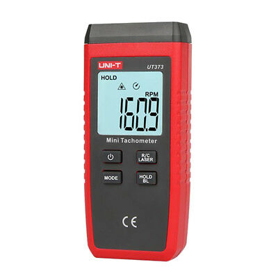 Plastic LCD Digital Laser Photo Tachometer Non Contact RPM Tach Tester Meter