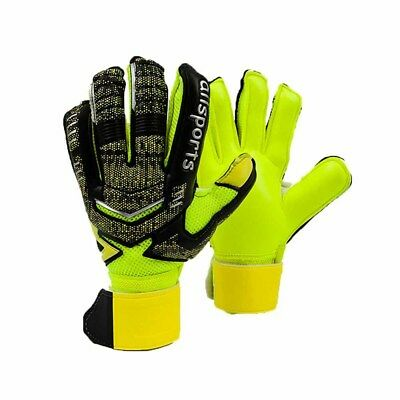 Soccer Football Goalie Goalkeeper Gloves With Fingersave Youth Adult Size 5-10