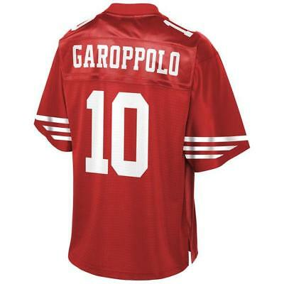 San Francisco 49ers Jimmy Garoppolo Red Game Jersey