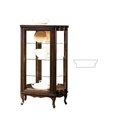 klassische vitrine schrank italienische m bel vitrinenschrank vitrinen neu ww3 4 eur. Black Bedroom Furniture Sets. Home Design Ideas