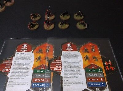 Heroscape - GOBLIN CUTTERS x 2 Lot - New & Unplayed - Complete