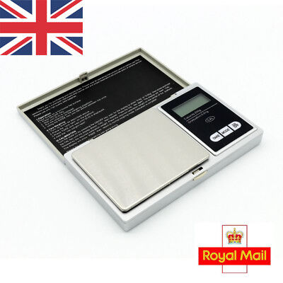 UK 0.01-200G Pocket Mini Digital Electronic Gold Jewelry Weighing Kitchen Scale