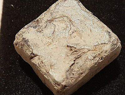 Super rare Roman heavy lead idol base/stand from Villa site n/r Tadcaster uk L3s