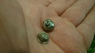 Nice medieval silver pendant parts 0.71g