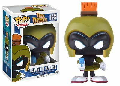Funko Pop! Animation 143 Duck Dodgers Marvin the Martian Pop FU9886 Vaulted