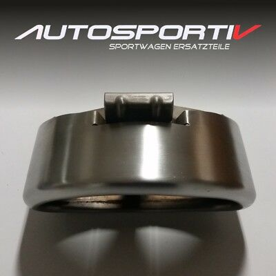 Porsche 986 Boxster Facelift Auspuff Endrohr tail pipe 99611125301 TOP