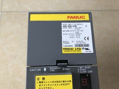 FANUC Servo Amplifier A06B-6096-H208 A06B6096H208 FREE EXPEDITED SHIPPING USED