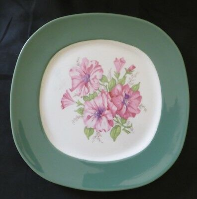 Taylor Smith & Taylor Petunia Pattern Dinner Plate