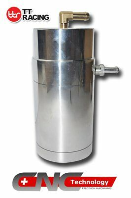 0.5L Oil Catch Can fits Holden V8 LS1 LS2 LS3 / COMMODORE VE V6 Universal Silver
