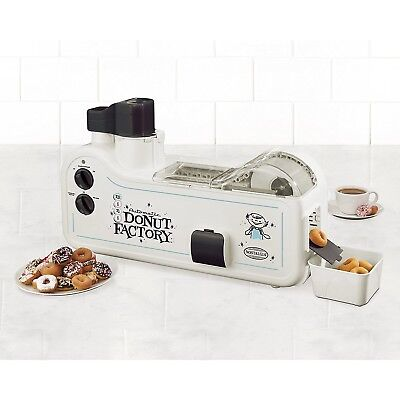 Donut Maker Making Machine Automatic Mini Donut Factory Dessert Party Kitchen