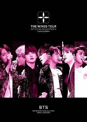 NEW 2017 BTS LIVE TRILOGY EPISODE III THE WINGS TOUR Blu-ray + LIVE PHOTO ALBUM