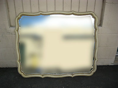 Vintage French Provincial Wall MIRROR Dixie Style French Country CHIC SHABBY