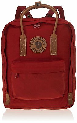 Fjällräven Kånken No 2 Cotton,leather,polyester Red Backpack Backpacks Cotton Le