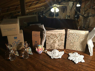 Lot of 5 Avon Christmas Ornaments