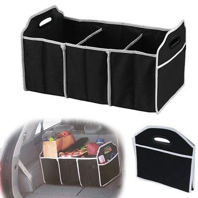 Portable Collapsible Folding Flat Trunk Auto Big Organizer for Car SUV Truck Van