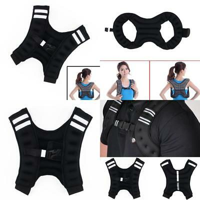 8kg Weighted Vest Home Gym Running Fitness Weight loss Strength Jacket