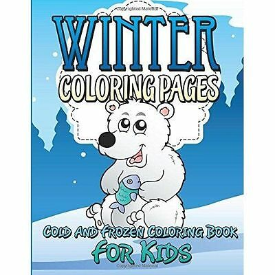 Winter Coloring Pages Cold And Frozen Book For Kids New