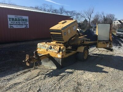 2001 Vermeer SC752 Towable Stump Grinder! Motor Smokes!