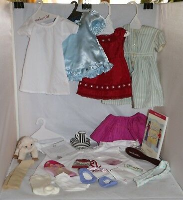 American Girl Lot of Clothes & Accessories & More 30+ pieces See Photos & Detail