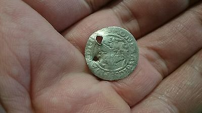 Selling as Unidentified rare? Medieval silver Hammered Coin  0.84g  13