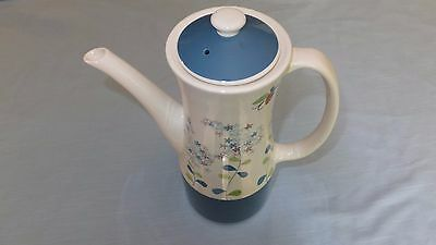"Napco Ware LILAC TIME COFFEE/TEA POT 10 3/4"" PRETTY FLOWER DESIGN EUC"