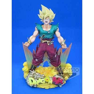 ORIGINAL Banpresto Dragonball Figur Super Master Star Diorama New Year Son Goku