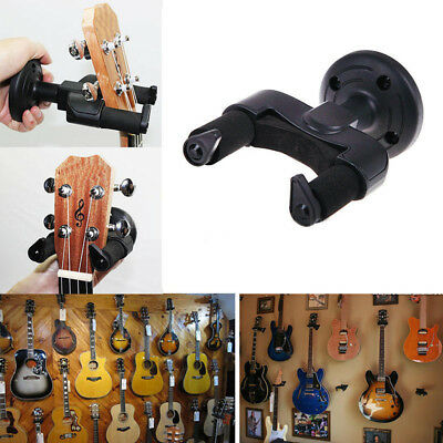 Guitar Wall Mount Hanger Stand Holder Hooks Display Acoustic Electric Bass Great